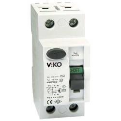 Viko - Viko Kaçak Akım Rölesi Ac Tip 30 Ma 2x 25a (1)