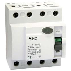 Viko - Viko Kaçak Akım Rölesi Ac Tip 30 Ma 4x 63a (1)