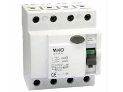 Viko - Viko Kaçak Akım Rölesi Ac Tip 300ma 4x 25a (1)