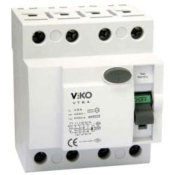 Viko - Viko Kaçak Akım Rölesi Ac Tip 300ma 4x 63a (1)