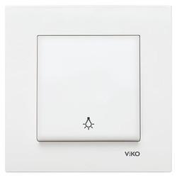Viko - Viko Karre/Meridian Beyaz Light Mekanizma (Çerçeve Hariç) (1)