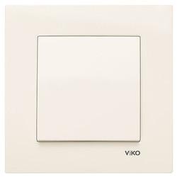 Viko - Viko Karre/Meridian Krem Anahtar Mekanizma (Çerçeve Hariç) (1)