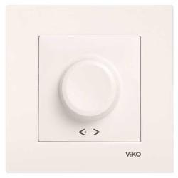 Viko - Viko Karre/Meridian Krem R Dimmer Rl 600w Mekanizma (Çerçeve Hariç) (1)