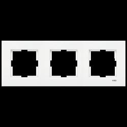 Viko - Viko Karre Beyaz Üçlü Çerçeve (1)