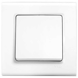 Viko - Viko Linnera/Rollina Beyaz Anahtar Mekanizma (Çerçeve Hariç) (1)