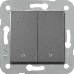 Artline Novella/Trenda Füme Jaluzi Kumanda Düğme (Mekanizma Hariç) - Thumbnail