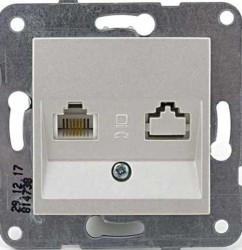 Artline Novella/Trenda Metalik Beyaz Data/Nümeris Kapak (Mekanizma Hariç) - Thumbnail