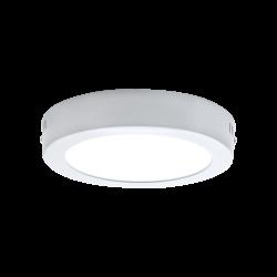 Lamptime - Lamptime Sıva Üstü Slım Downlıght 20w 3000k Yuvarlak Beyaz Gövde (1)