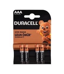 DURACELL - Duracell AAA İnce Kalem Pil 4lü (1)