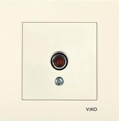 Viko - Viko Karre Krem Tv Dirençsiz Mekanizma (Çerçeve Hariç) (1)