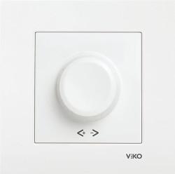 Viko - Viko Karre/Meridian Beyaz R Dimmer Rl 1000w Mekanizma ( Çerçeve Hariç ) (1)