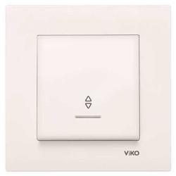 Viko - Viko Karre/Meridian Krem Işıklı Vavien Ç.B. Mekanizma (Çerçeve Hariç) (1)