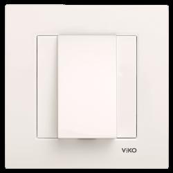 Viko - Viko Karre/Meridian Krem Kablo Çıkış Mekanizma ( Çerçeve Hariç ) (1)
