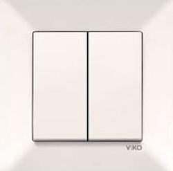 Viko - Viko Karre/Meridian Krem Impulse Komütatör Mekanizma (Çerçeve Hariç) (1)