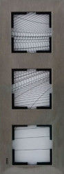 Artline Novella Eloxal Bronz Üçlü Çerçeve