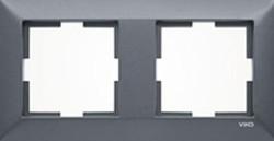 Artline Novella Eloxal Siyah İkili Çerçeve - Thumbnail