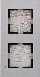 Artline Novella Eloxal Gümüş İkili Çerçeve