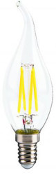 Cata - Cata 4w Led Filament Kıvrık Buji Ampul (Günışığı) CT-4062 (1)