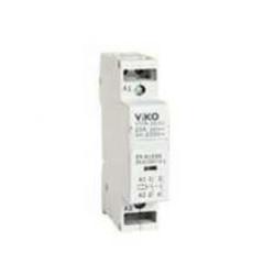 Viko Moduler Kontaktör 25a 1no+1nc (Ray Tipi)