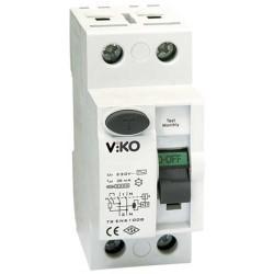 Viko - Viko Kaçak Akım Rölesi Ac Tip 300ma 2x 25a (1)