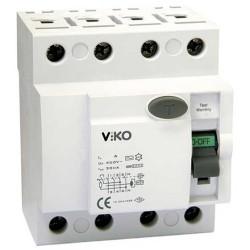 Viko - Viko Kaçak Akım Koruma Rölesi Ac Tip 30 Ma 4x100a (1)