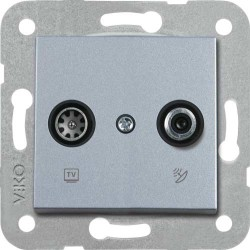 Artline Novella/Trenda Gümüş Tv-Sat Kapak (Mekanizma Hariç) - Thumbnail