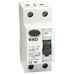 Viko Kaçak Akım Rölesi Ac Tip 30 Ma 2x 40a - Thumbnail