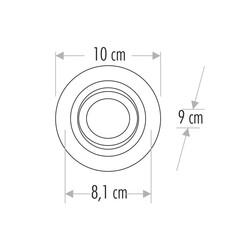 Cata - Cata Pars Sıva Altı Spot CT-5224 (1)