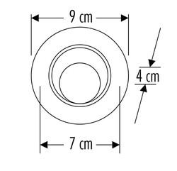 Cata - Cata 6w Led Spot (Günışığı) CT-5200 (1)