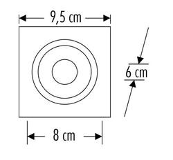 Cata - Cata Kartal Yuvarlak Spot ( Siyah Kasa ) CT-5031 (1)