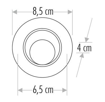 Cata 8w Safir Led Spot (Günışığı) CT-5256