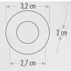 Cata - Cata 1,5W Yıldız Spot Power Ledli (Mavi) CT-5270M (1)