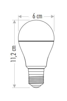 Cata 9W Uzaktan Kumandalı RGB Led Ampul CT-4058