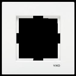 Viko Karre Beyaz Tekli Çerçeve - Thumbnail
