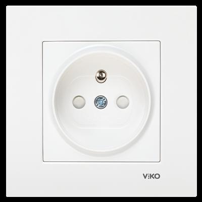 Viko Karre/Meridian Beyaz Ups Priz Ç.K. Mekanizma (Çerçeve Hariç)