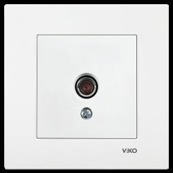 Viko Karre/Meridian Beyaz Tv Dirençsiz Mekanizma (Çerçeve Hariç) - Thumbnail