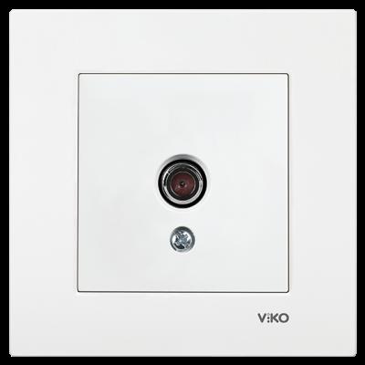 Viko Karre/Meridian Beyaz Tv Dirençsiz Mekanizma (Çerçeve Hariç)