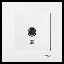 Viko Karre/Meridian Beyaz Tv Sonlu Mekanizma (Çerçeve Hariç) - Thumbnail