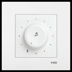 Viko Karre/Meridian Beyaz Müzik Yayın Anahtarı Mekanizma (Çerçeve Hariç) - Thumbnail
