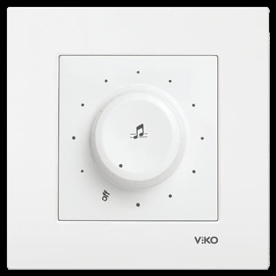 Viko Karre/Meridian Beyaz Müzik Yayın Anahtarı Mekanizma (Çerçeve Hariç)