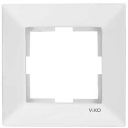 Viko Merıdıan Beyaz Tekli Çerçeve - Thumbnail
