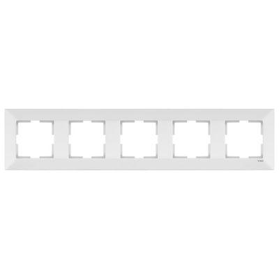 Viko Merıdıan Beyaz 5-Li Çerçeve