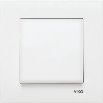 Viko Karre/Meridian Krem Boşluk Kapağı Mekanizma (Çerçeve Hariç)