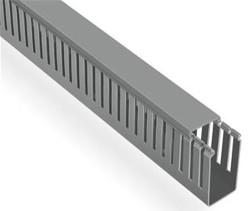 Mutlusan 60x40 Kablo Kanalı (Delikli)(Gri)(2m) - Thumbnail