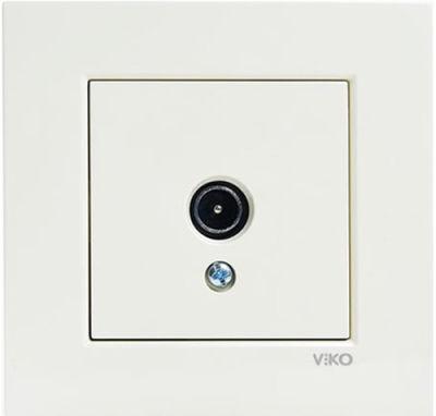 Viko Karre/Meridian Krem Tv Geçişli 12db Mekanizma ( Çerçeve Hariç )