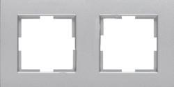Artline Trenda Gümüş İkili Çerçeve - Thumbnail