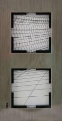 Artline Novella Eloxal Bronz İkili Çerçeve - Thumbnail