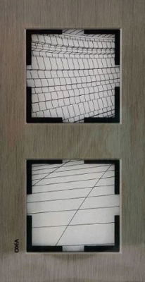 Artline Novella Eloxal Bronz İkili Çerçeve