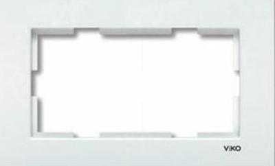 Viko Merıdıan Beyaz İkili Sıvaaltı Çerçeve