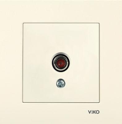 Viko Karre Krem Tv Dirençsiz Mekanizma (Çerçeve Hariç)